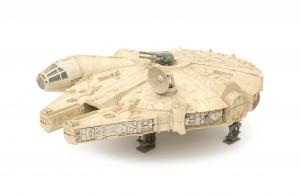 Een vintage Star Wars Millenium Falcon, Kenner 1979.
