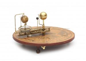 Een 'new portable orreries', W&S Jones. 18e eeuw