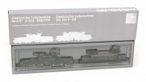 Een elektrische locomotief, twee krokodillen. H0 3300. Märklin. Eénmalige uitgave ter ere van 125 jarig jubileum.